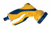 Пістолет-розпилювач 7-позиційний пластиковий, плавне регулювання VERANO 72-026 | пластиковый plastic плавное neted регулирования regulament
