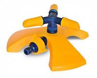 Розпилювач, що обертається, пластиковий 3-променевий VERANO 72-085 | розпилювач, дощувач, зрошувач, поливалка, распылитель, дощеватель, ороситель,