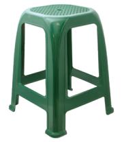 Табурет пластиковый зеленый