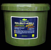 Пелети Carpio Halibut+Krill, 6мм, 7кг
