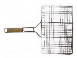 Решітка-гриль для м'яса 26х35см, з ручкою дерево, 59 см Sunday 73-503 | ручкой