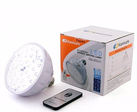 Светодиодная энергосберегающая лампа с пультом управления Kamisafe KM-5608C