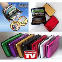 Кошелек-кредитница Aluma Wallet, алюминиевый кошелек алюма валет , фото 1