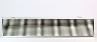 Бегущая светодиодная строка в автомобиль P5 White 10*40
