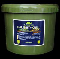 Пеллетс Carpio Halibut+Krill, 6мм, 3кг