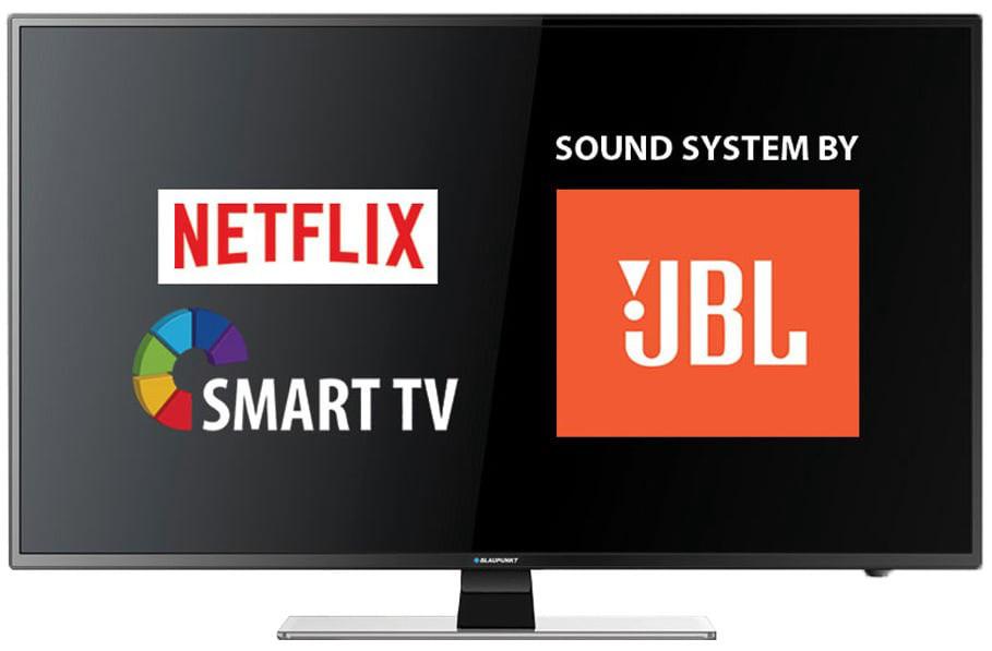 Телевизор Blaupunkt BLA-40/233M (AMR 100Гц, Full HD, Smart TV, Wi-Fi, Dolby Digital Plus 2x8Вт, DVB-C/T2/S2)