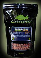 Пелети Carpio Halibut+Krill, О6мм, 0.9 кг