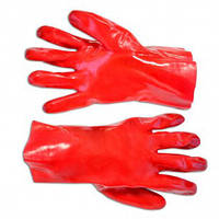 Рукавички гумові олієстійкі 27см Technics 16-225 | перчатки резиновые олиестийки