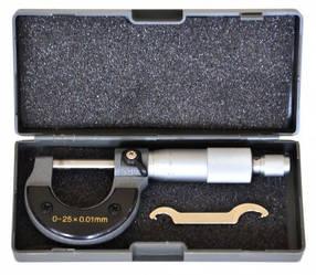 Мікрометр 0–25мм, 0,01–0,25 мм S-Line S-line 15-680 | микрометр