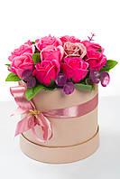 Цветы из мыла набор Шикарный Розовый Композиция Soap Flowers Posh Pink