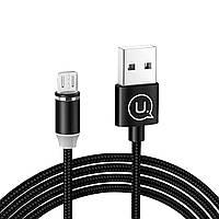 Магнитный кабель USAMS US-SJ158 MicroUSB 2.1A