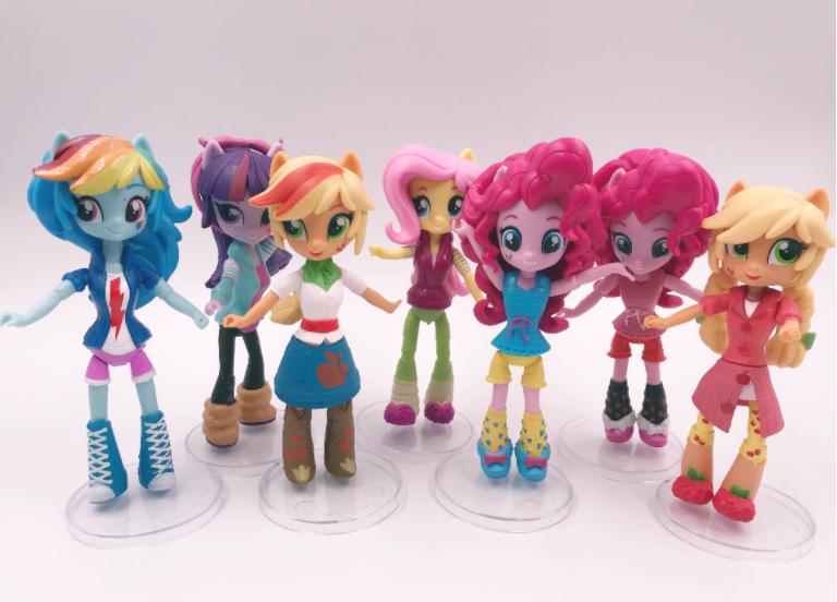 Набор My little pony 7 шт. Equestria girls minis Моя маленькая пони