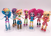 Набор My little pony 7 шт. Equestria girls minis Моя маленькая пони, фото 1