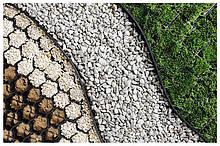 Бордюр пластмасовый тротуарный h 7см (1000 мм) окантовка