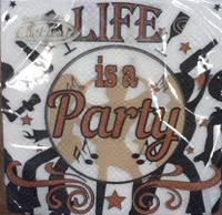 Салфетка La Fleur party