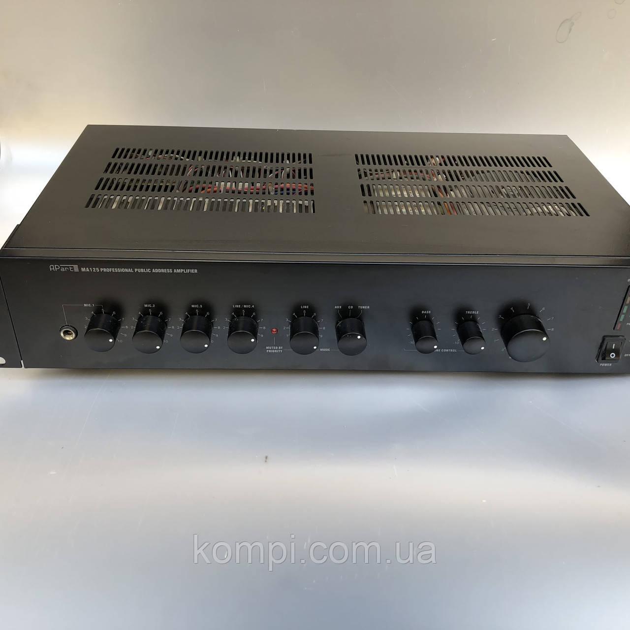 Микшер-усилитель APart MA 125 (Трансляционный)