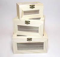 Набор коробок для фурнитуры(3шт.) 28_1_63