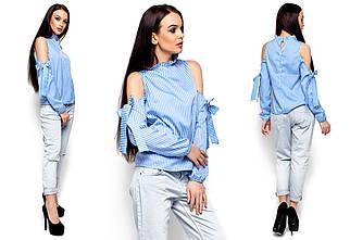 Женская блуза Karree Непал голубая