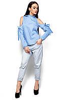 Женская блуза-рубашка Karree Непал голубая