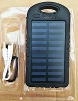 Портативное зарядное устройство Solar Charger Power Bank 30000mAh + LED фонарь, фото 1