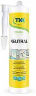 Герметик силіконовий нейтральний Tekasil Neutral білий 280мл 5191 TKK 12-351 | силиконовый нейтральный белый