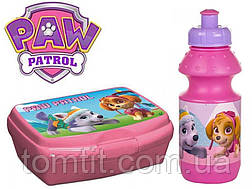 "ОПТ. Набор ""Paw Patrol (Щенячий патруль)"": Ланч бокс (ланчбокс) + бутылка, фото 2"