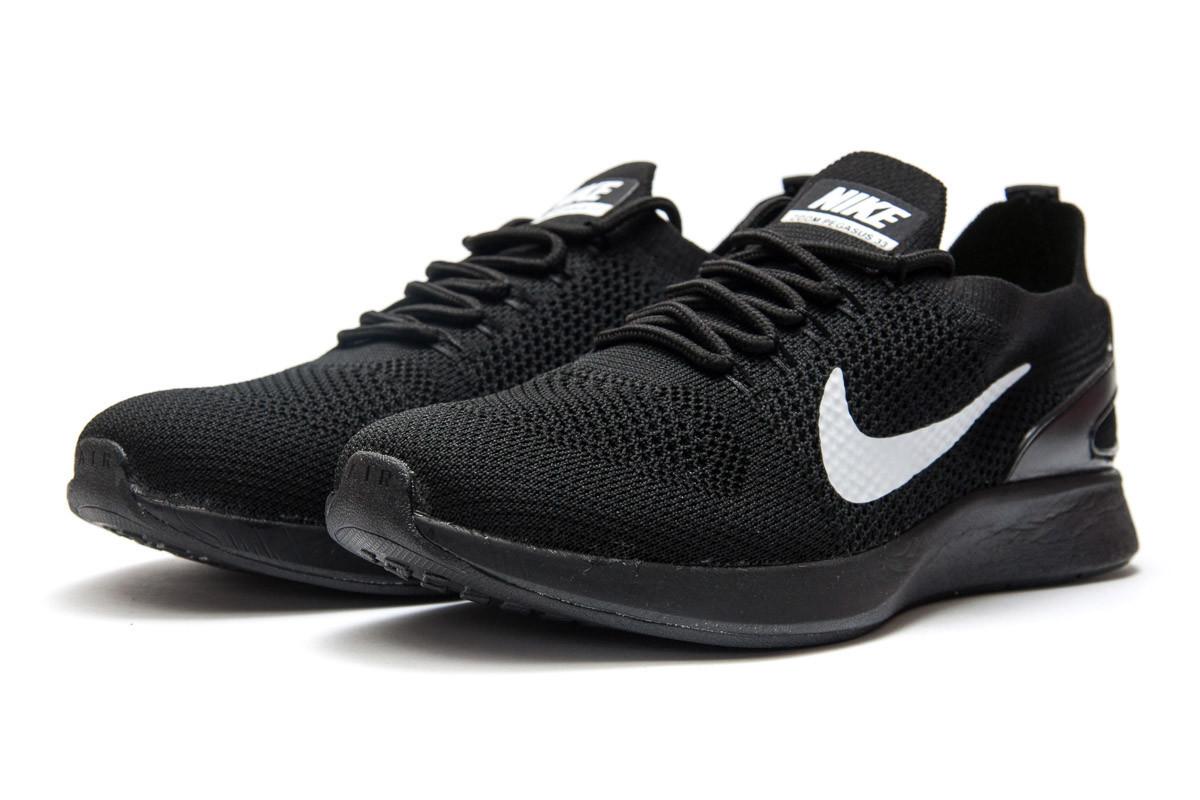 Кроссовки мужские Nike Zoom Pegasus 33, черные (12881) размеры в наличии ► [  45 (последняя пара)  ]