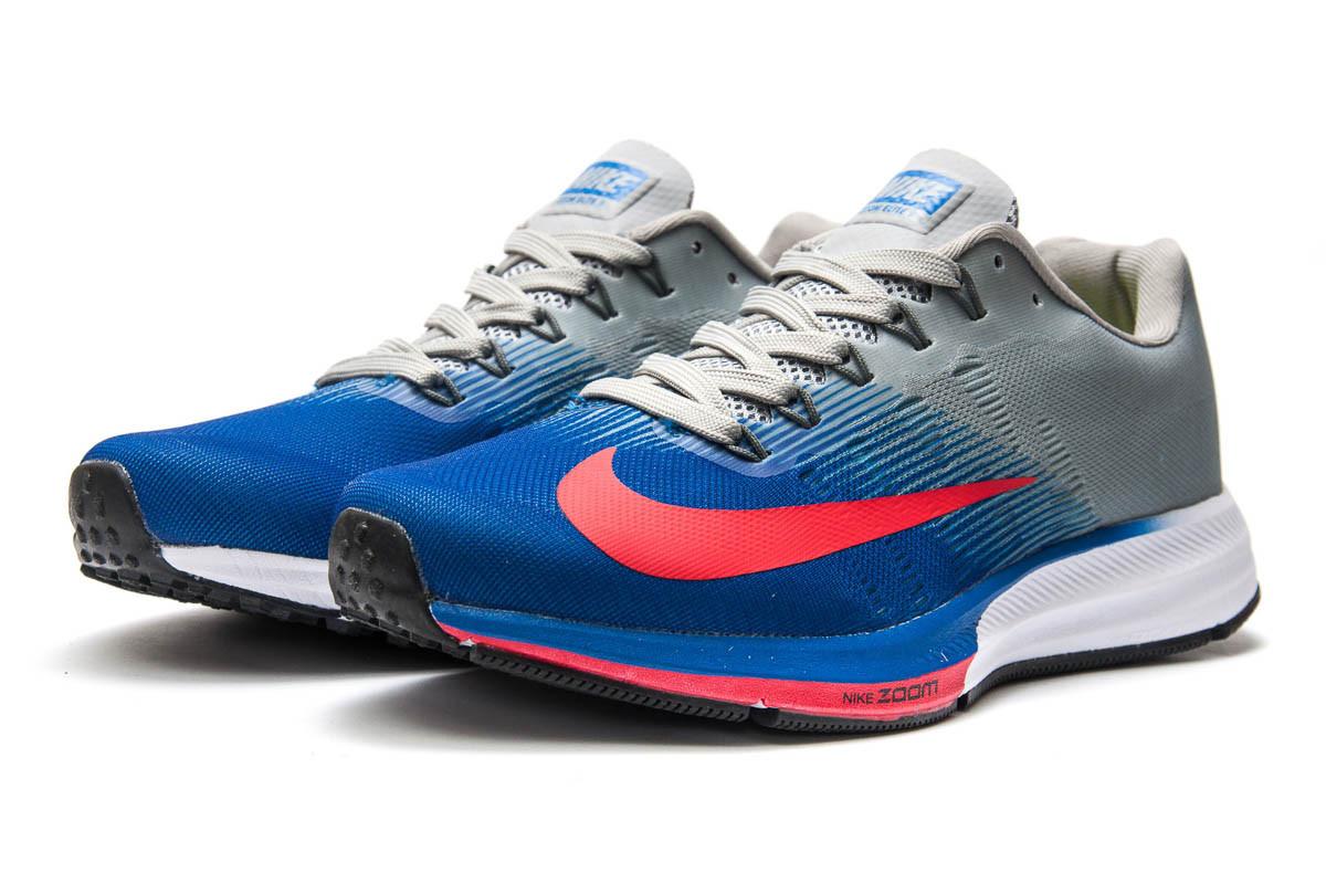 Кроссовки мужские Nike Zoom Elite 9, синие (12893) размеры в наличии ► [  41 (последняя пара)  ]