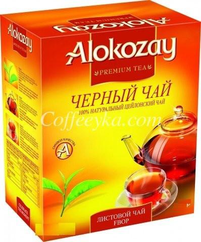 Чай чёрный Alokozay  среднелистовой Fbop 250 г