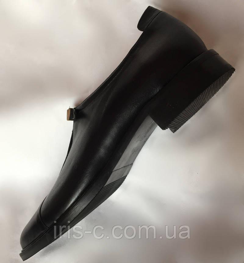 Туфли женские, Sassofono Exclusive, натуральная кожа, размер 39/40