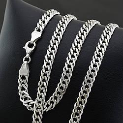 """Серебряная цепочка """"Ромбик Европейский"""", длина 60 см, ширина 6 мм, вес серебра 24.1 г"""