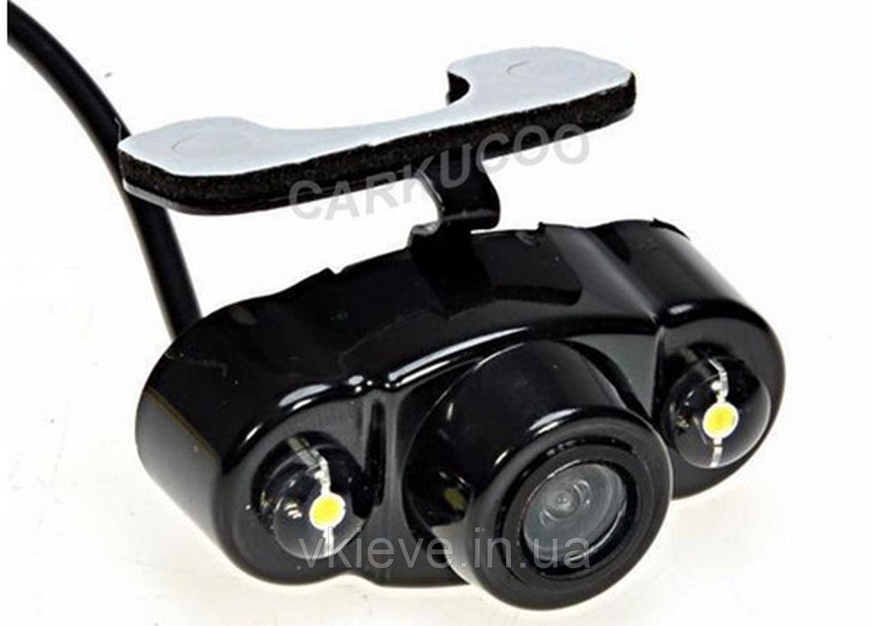 Камера заднього виду HD з підсвічуванням тип Метелик з діодами