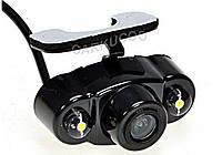 Камера заднего вида HDс подсветкой тип Бабочка с диодами, фото 1