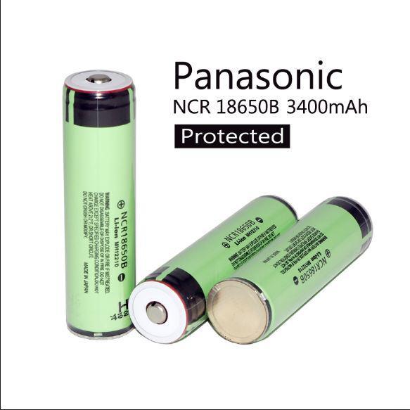 18650 Panasonic 3400mAh с защитой оригинальный аккумулятор NCR18650B