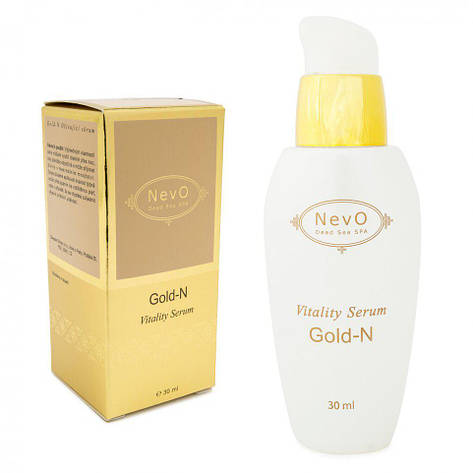 Серум для  увядающей кожи лица,шеи Gold–N 30 ml, фото 2