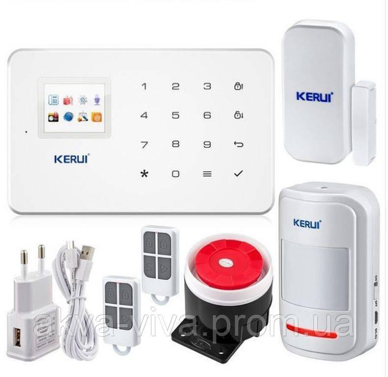 Беспроводная GSM сигнализация KERUI G18