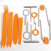 Инструмент для снятия обшивки (облицовки) авто (12 шт).