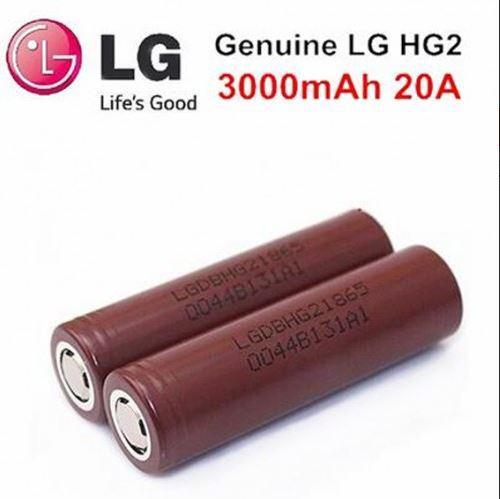18650 LG HG2 3000mAh высокотоковый оригінальний акумулятор Реальна ємність