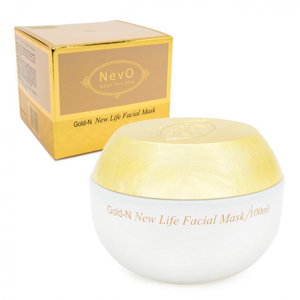 Маска для жирной кожи  лица Gold-N 100 ml