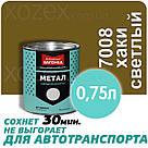 Дніпровська Вагонка Швидковисихаюча МЕТАЛ № 7008 Хакі Світлий 20лт, фото 3