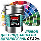 Дніпровська Вагонка Швидковисихаюча МЕТАЛ № 7008 Хакі Світлий 20лт, фото 4
