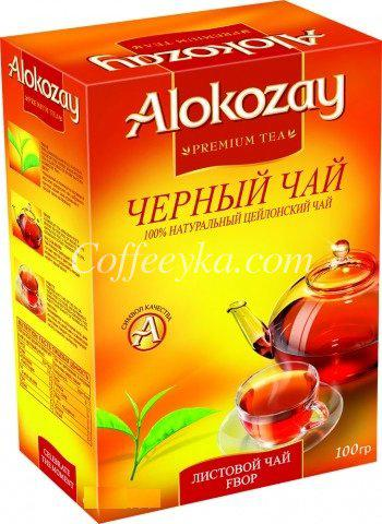 Чай чёрный  Alokozay среднелистовой Fbop 100 г