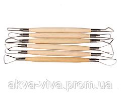 Набор инструментов скульптора (6 шт).