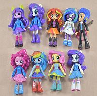 Набор My little pony 9 шт. Equestria girls minis Моя маленькая пони, фото 1