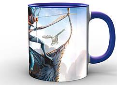 Кружка Geek Land Аватар Avatar аватары в полете AV.002.01 Да, Да, синяя