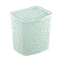 Корзина для белья (IVY BOX) Elif 383 мятная