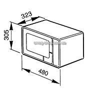 Микроволновая печь SMEG MM181N