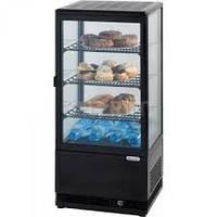 Витрина холодильная  вертикальная Stalgast 852171 78 л черная