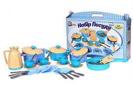 Игрушечный набор посуды Набір посуду ТехноК, арт.4463