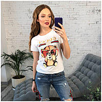 Модная женская футболочка , фото 1